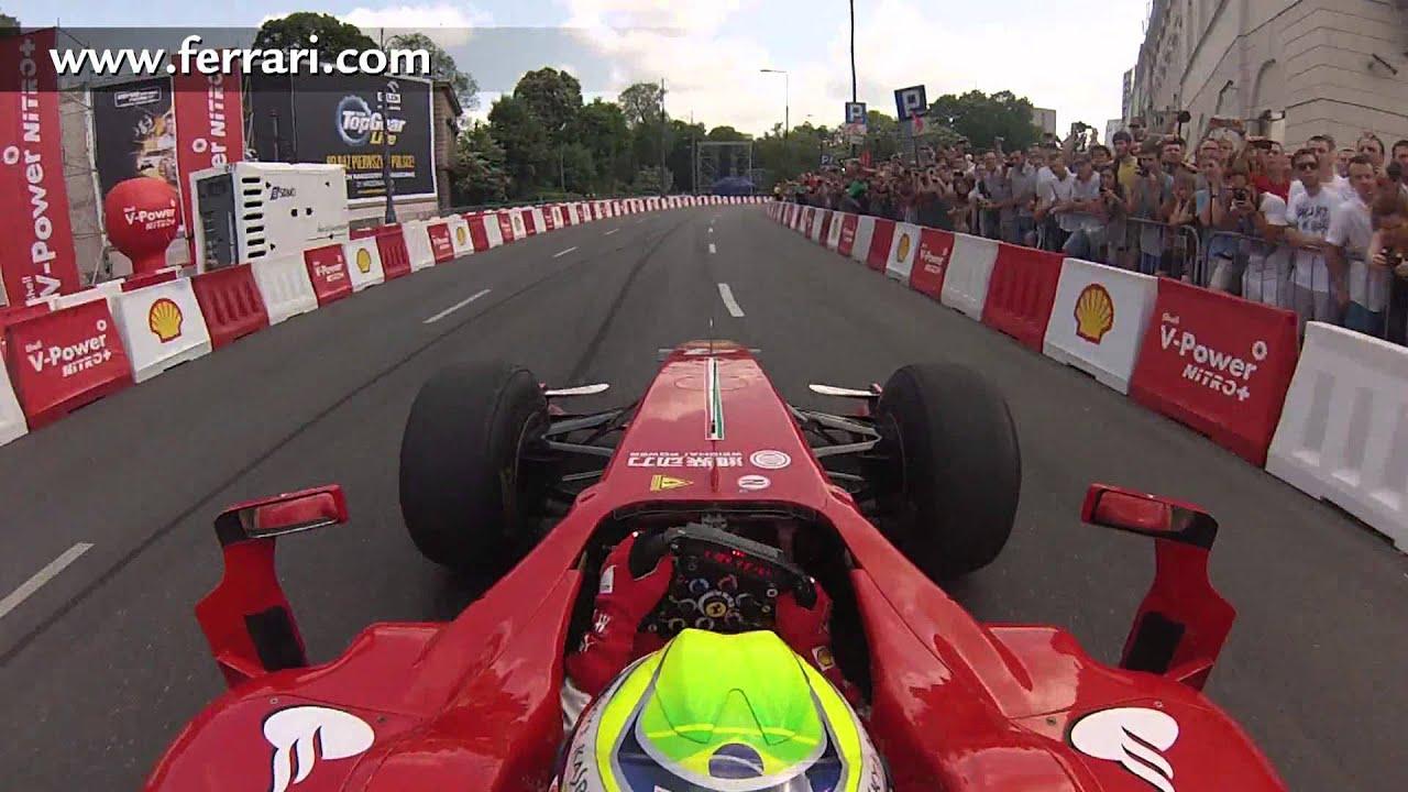 F1 2013 Ferrari On Board Camera With Felipe Massa At