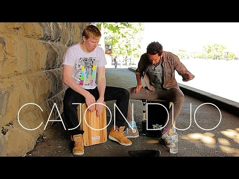 Cajon Jam with Matt Whitehouse in Melbourne, Australia