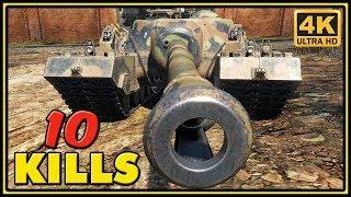 T95 - 10 Kills - 1 VS 4 - World of Tanks Gameplay - 4K Video
