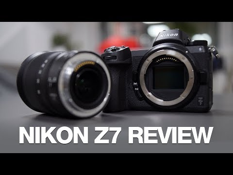Nikon Z7 Review with 24-70mm f4 and 35mm f1 8 - YouTube