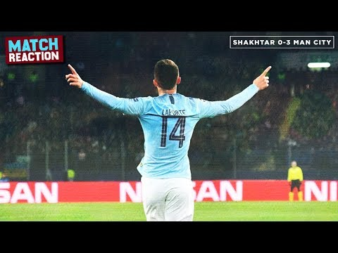Shakhtar Donetsk 0-3 Manchester City | MATCH REACTION