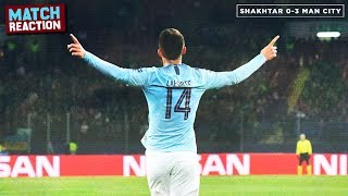 Shakhtar Donetsk 0-3 Manchester City | MATCH REACTION