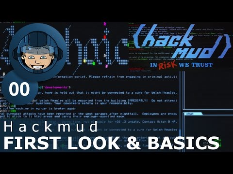 FIRST LOOK & BASICS - Hackmud - Gameplay & Tutorial