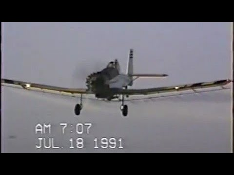 PZL Dromader M18 spraying corn in Mexico! Cropdusting