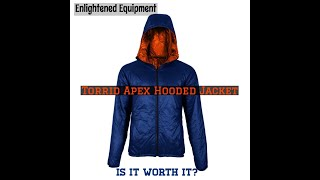 Review of the Enlightened Equipment Torrid Apex Hooded Jacket: Is it worth it?