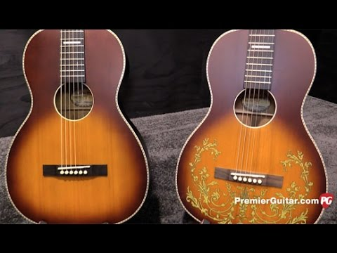 NAMM '17 - Recording King Dirty 30's Single 0 and Dreadnought Demos