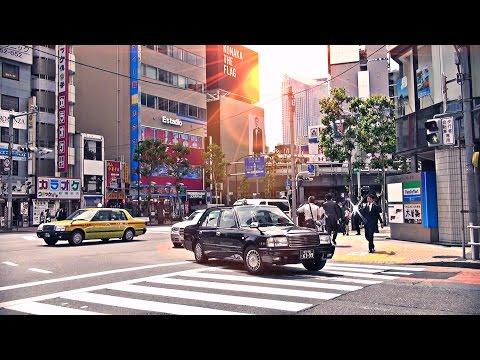 Streets of Shinbashi  新橋  Minato / Tokyo HD