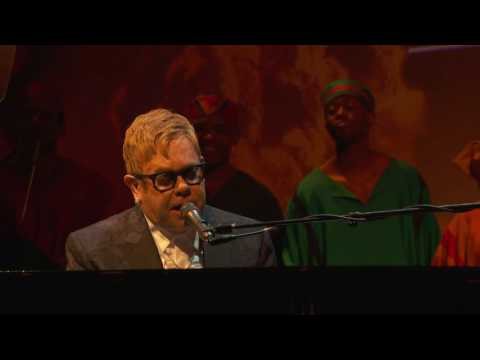 THE LION KING: See the London cast perform with Elton John at the Evening Standard Awards 2016