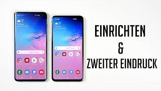 Samsung Galaxy S10 & S10e - Einrichten & Zweiter Eindruck (Deutsch) | SwagTab