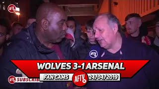 Wolves 3-1 Arsenal | We Can't Blame Mustafi Tonight! A Lot Of These Players HAVE TO GO! (Claude)