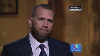 ¡Alex Rodríguez luego del escándalo! Revelaciones de un campeón YouTube Videos