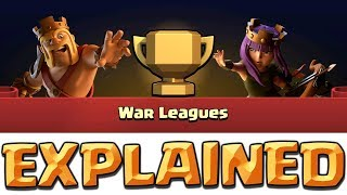 CLAN WAR LEAGUES EXPLAINED - How do Clan War Leagues Work? Clash of Clans CWL Update!