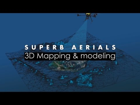 3D Mapping/Drone Inspection/GIS | Industrial Drones | SuperbAerials.com/3D