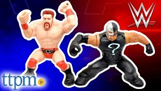 WWE Power Slammers Dynamite Driving Rey Mysterio and Thunder Twisting Sheamus from Mattel