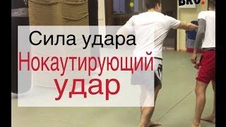 Нокаутирующий удар. UFC. Смешанные единоборства. Клуб ММА. Тренировка ММА. ФайтБРО - Москва