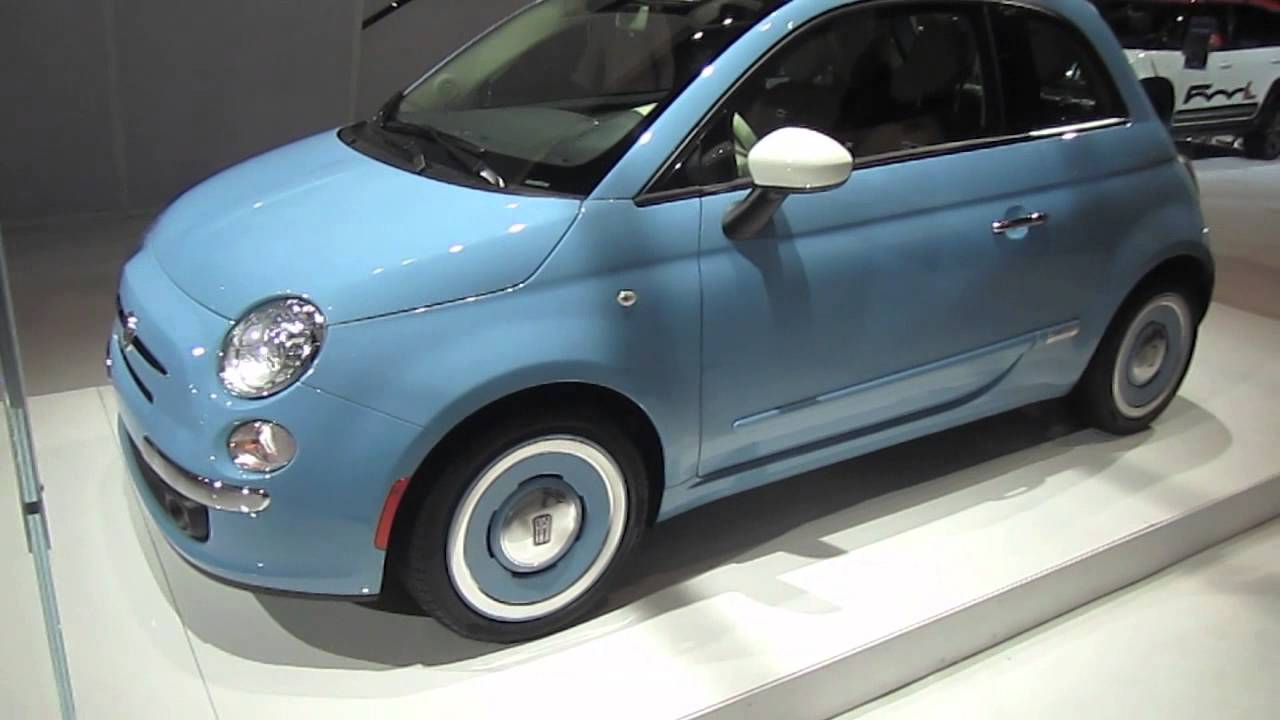 2014 fiat 500 1957 retro edition walk around youtube. Black Bedroom Furniture Sets. Home Design Ideas
