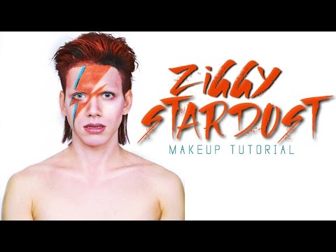David Bowie Ziggy Stardust (Aladdin Sane) - Makeup Tutorial
