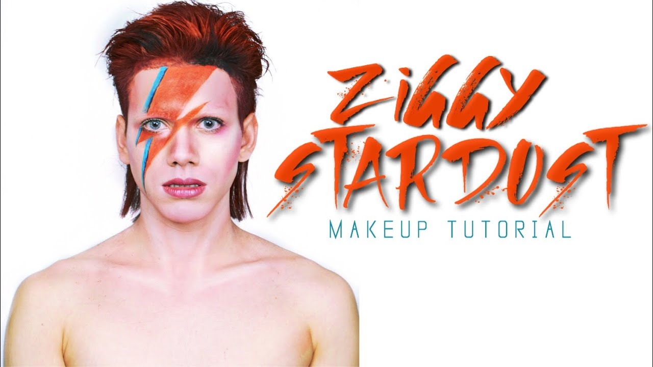 David Bowie Ziggy Stardust (Aladdin Sane) , Makeup Tutorial