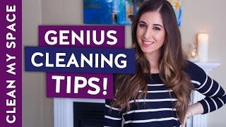 10 Genius Cleaning Tips!