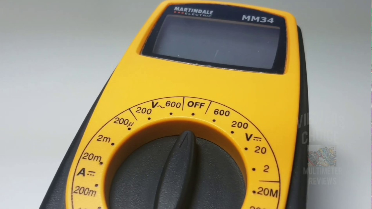 Download Martindale Electric MM34 Multimeter Review & Showdown!