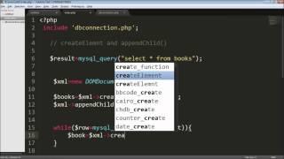 Creating dynamic XML  in PHP