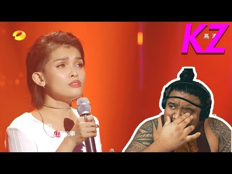 KZ Tandingan - Sings In Mandarin (The Singer 2018) [MUSIC REACTION]