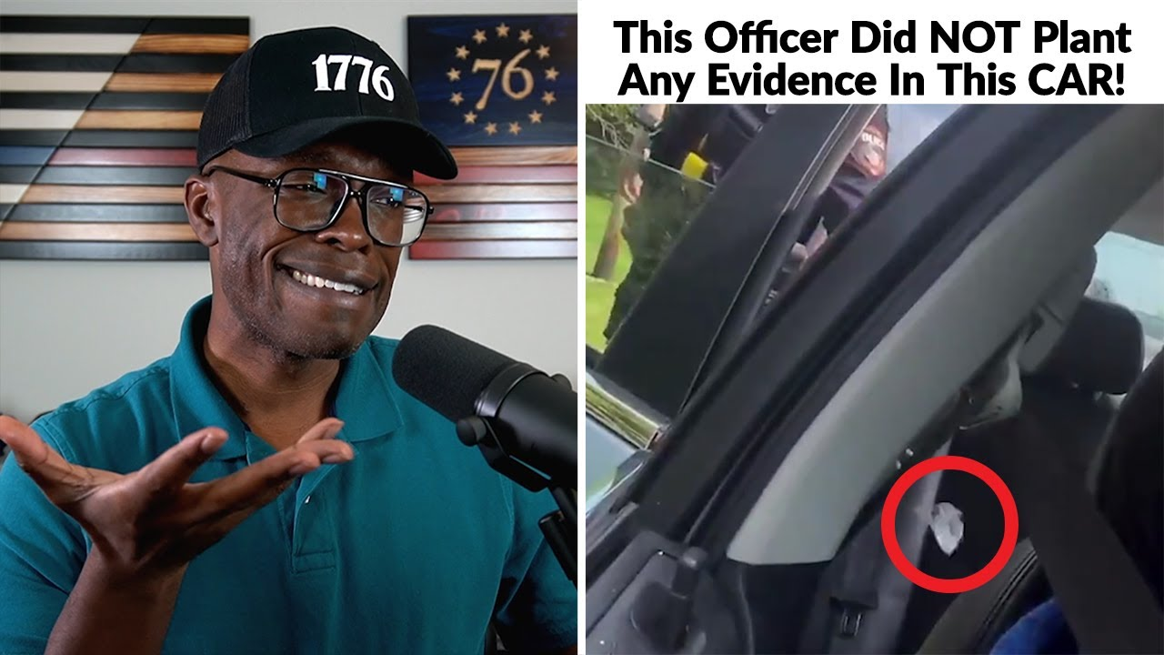 No, The Officer DID NOT Plant Evidence In That Man's Car!