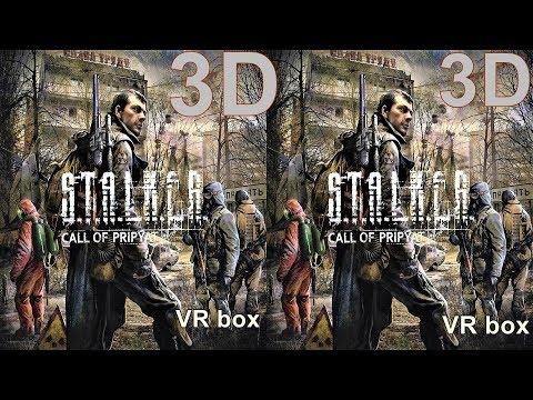 3D VR  S.T.A.L.K.E.R - Call Of Pripyat 3D SBS видео для VR очков