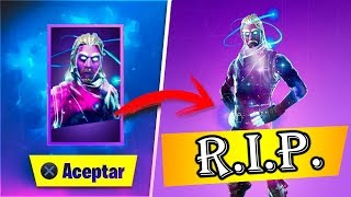 *GALAXY SKIN* TO THE BOVEDA SEGUN SAMSUNG *FORTNITE* BATTLE ROYALE