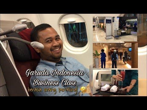 Review Business Class Garuda - Berasa orang pentiingg!