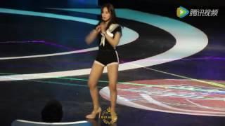 [Fancam] 160122 T ARA Eunjung SL + N9 + SF + BPBP + SC @ Jiangsu TV The Brain