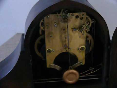 Antique Gilbert 1807 Winding Mantel Clock