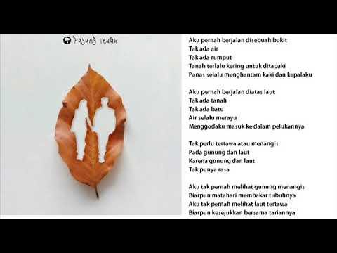Payung Teduh - Cerita Gunug dan Laut KARAOKE TANPA VOKAL -( by Ferdi Nal )