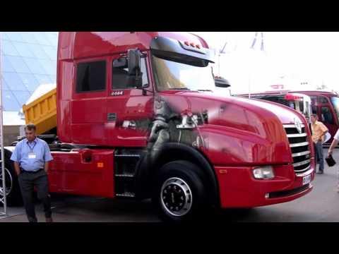 Седельный грузовик Урал6464   Современные российские тягачи