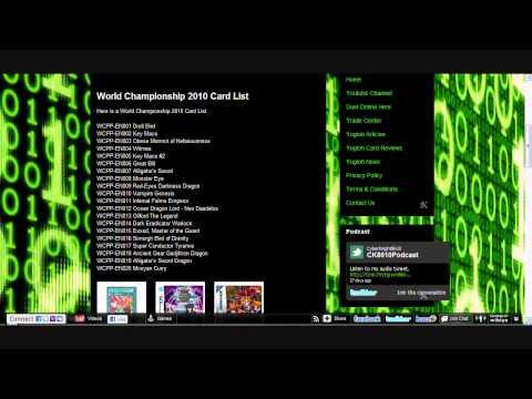 World Championship 2010 Pack Card List [HD]
