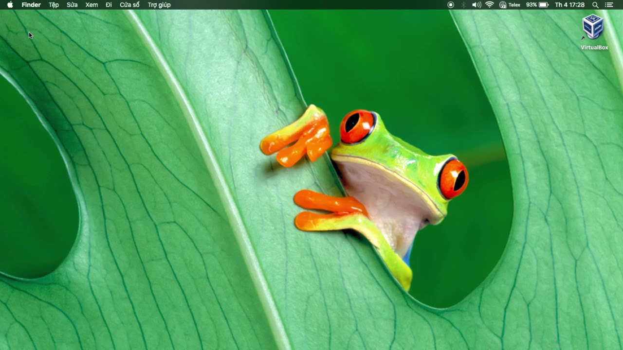 [MacOS] giới thiệu thanh task bar trong MacOS