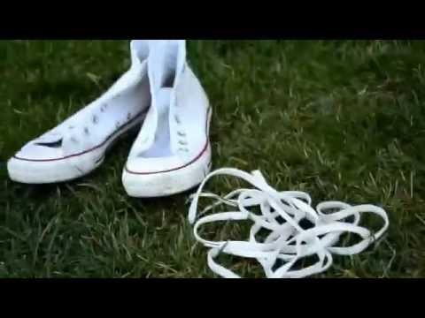 Как очистить белые кеды