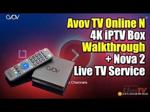Avov TV Online N Walthrough + Nova 2 Live TV Access, how to get it