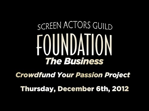 The Business: Crowdfund Your Passion Project