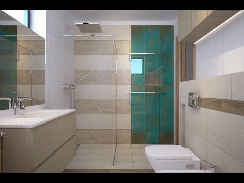 Projekt Nowoczesnej łazienki Paradyż