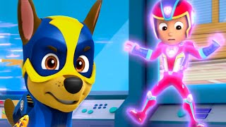 Paw Patrol | All Mighty Pups On a Roll Rescue Mission | Mighty Skye, Zuma in Action Nick Jr. HD