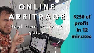 Online Arbitrage real time sourcing guide 2020 (How to source without going to stores)
