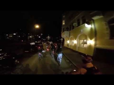 Critical Mass Wuppertal - Januar 2015
