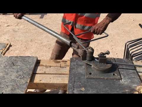 How To Fabricate Four Legged Stirrups With One Steel