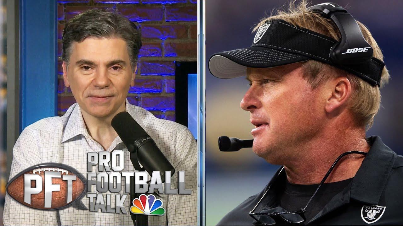 Raiders coach Jon Gruden reveals he had coronavirus