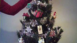 Christmas Tree Bling: Holiday Jewelry Display and Table Top Decoration