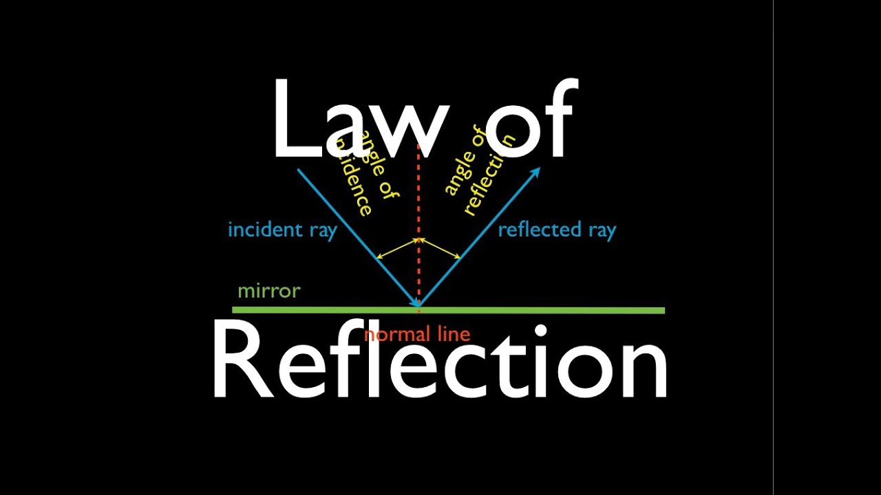 reflection 1 of 1 what is the law of reflection an explanation [ 1280 x 720 Pixel ]