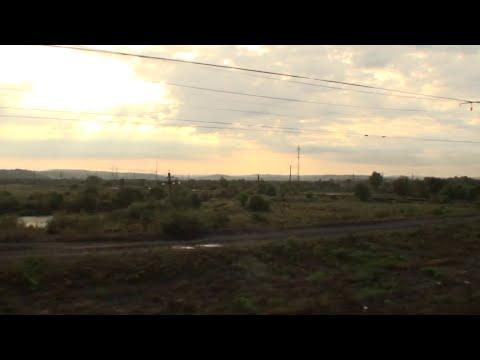 Уссурийск. Приморский край вид из окна поезда