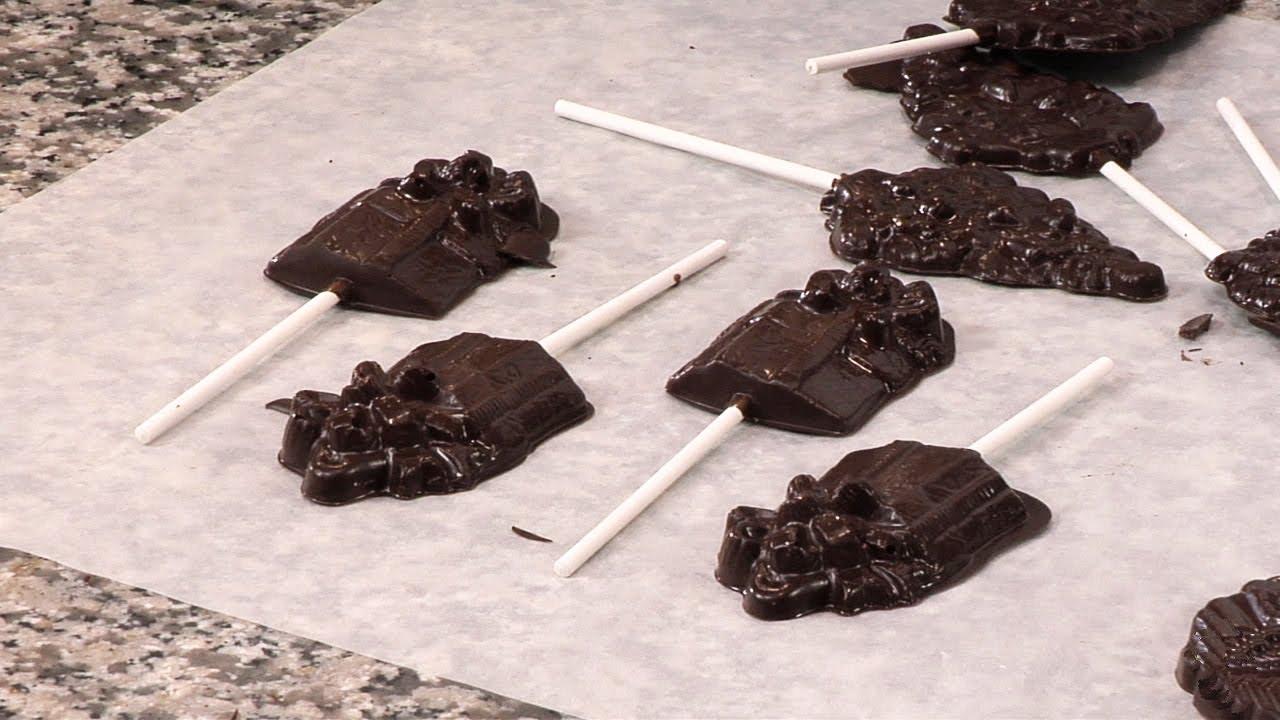 Como hacer chupetas de chocolate youtube for Como hacer crepes de chocolate
