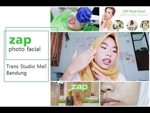 Kulit Jerawatan: Nyobain ZAP NEW Photo Facial di TSM Bandung #CantikJamanNow - YouTube